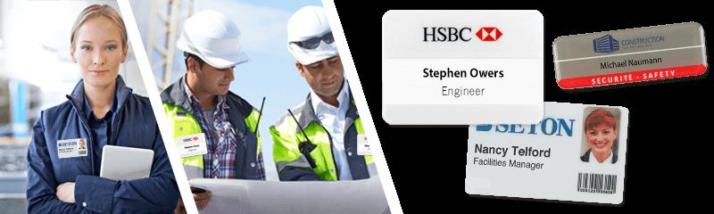 Placas identificativas para empresas de gestión de instalaciones