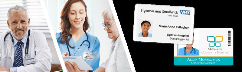 Placas identificativas para hospitales y centros médicos