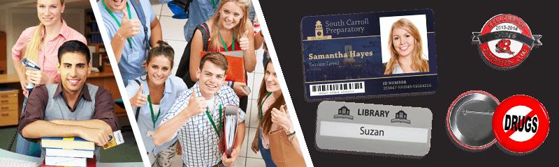 Placas identificativas para colegios y universidades