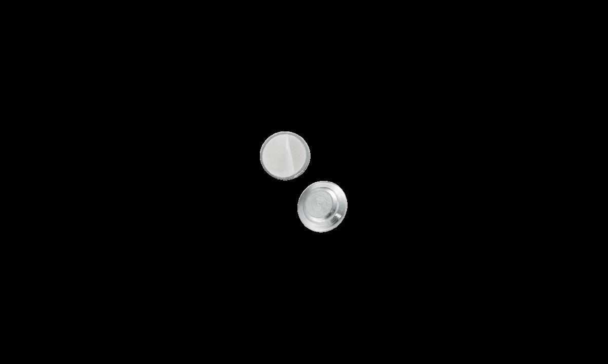 Accesorio magnético adhesivo - molde metálico redondo