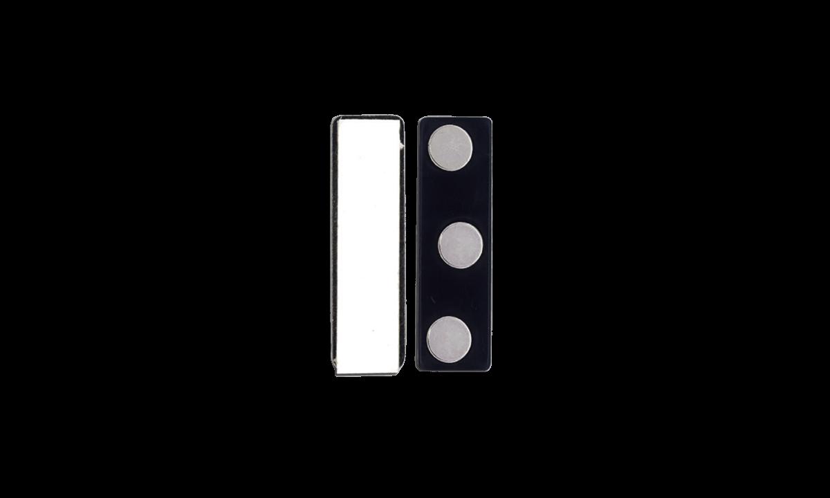 Accesorio magnético adhesivo - molde de plástico (3 imanes)