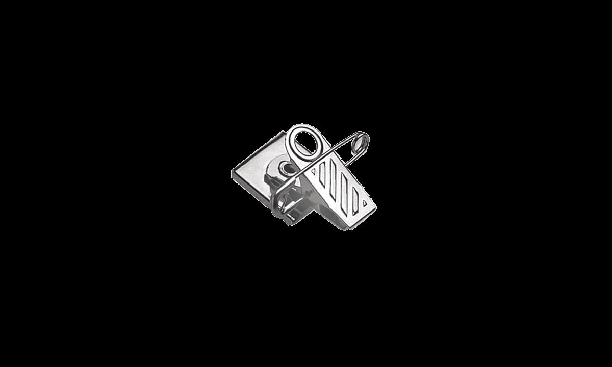 Accesorio pinza/imperdible rotatorio con cinta de espuma