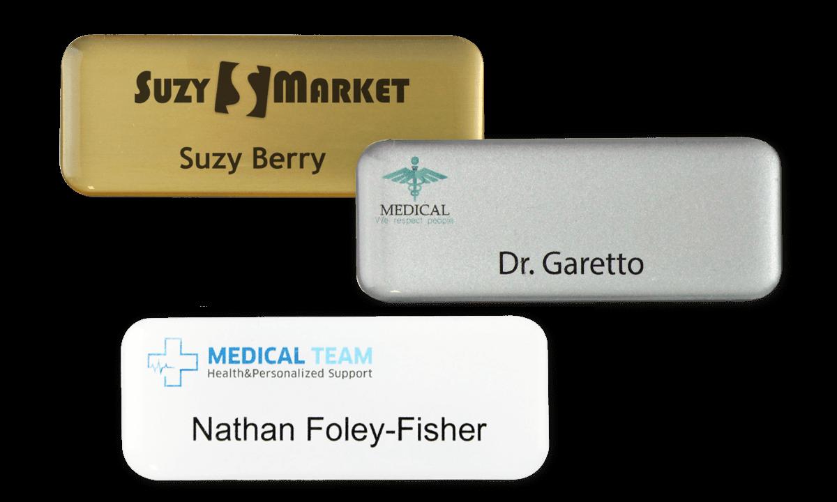 Identificadores Impress Premium, 65 x 25 mm