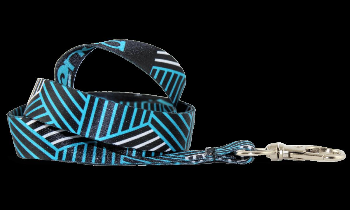 Lanyards personalizados de poliéster satinado 15 mm - Impresión digital