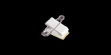Accesorio pinza/imperdible con cinta de espuma