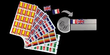 Pegatinas de banderas