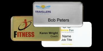 Identificadores Impress Premium, 75 x 38 mm