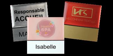 Identificadores Premium reutilizables 50 x 50 mm, etiqueta adhesiva de 18 mm