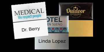 Identificadores Premium reutilizables 50 x 50 mm, etiqueta adhesiva de 24 mm