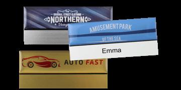 Identificadores Premium reutilizables 75 x 32 mm, etiqueta adhesiva de 12 mm