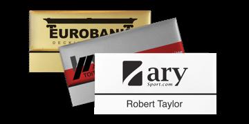 Identificadores Premium reutilizables 75 x 38 mm, etiqueta adhesiva de 12 mm