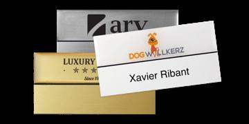 Identificadores Premium reutilizables 75 x 38 mm, etiqueta adhesiva de 18 mm