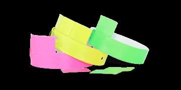 Pulseras de vinilo 19 mm con 3 lengüetas