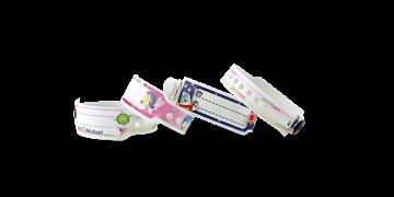 Pulseras de plástico 19 mm para niños, impresión digital