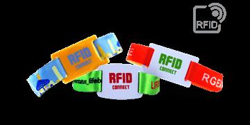 Pulseras de tela PDC Smart® con placa RFID deslizante