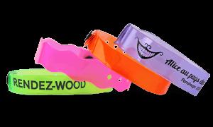 Translucent wristbands